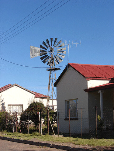 Steynsburg houses and windmill | Somehow the town of Steynsb ...