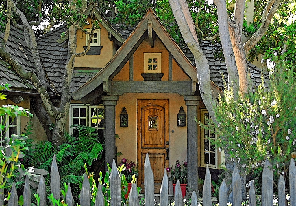 The Fairytale Cottages Of Carmel Homes such as this one ta Flickr