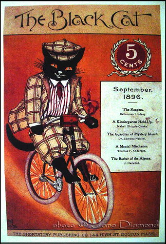 'the black cat' - vintage poster | by Jane in Catland - ON TEMP. BREAK