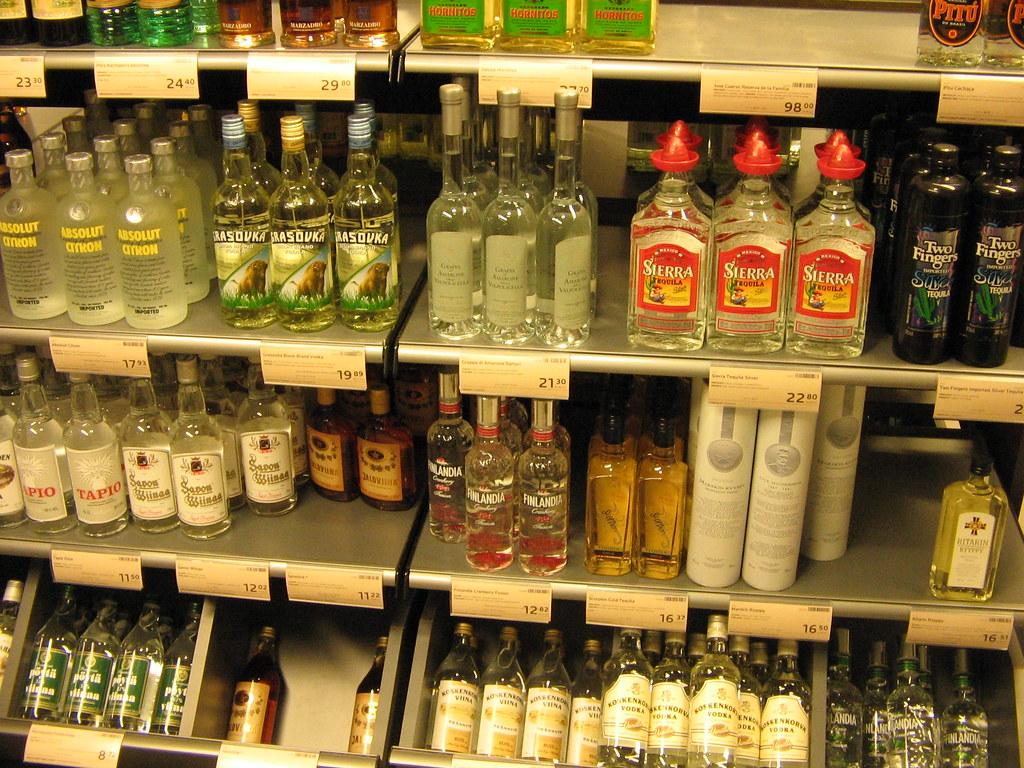 Vodka Alko Alko Es El Simbolo Finaland 233 S Del Monopolio