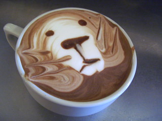 Mocha poured by Bob | by tonx