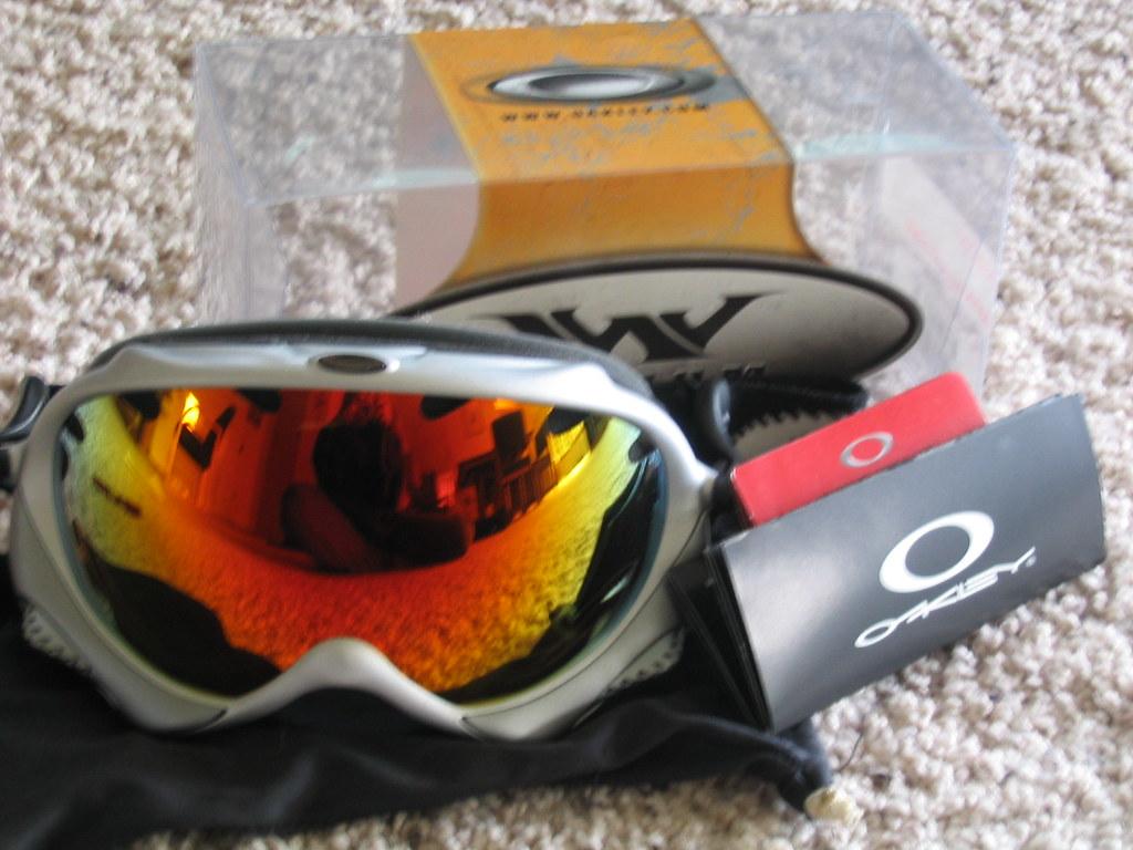 Oakley Wisdom Goggles