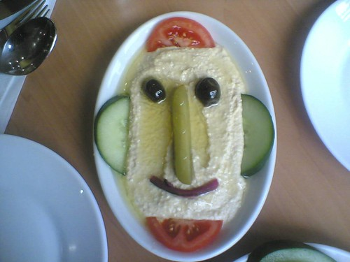 humus face | by Joi