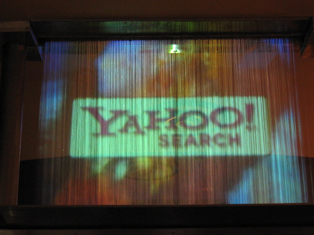 yahoo search waterfall projection this was on the way