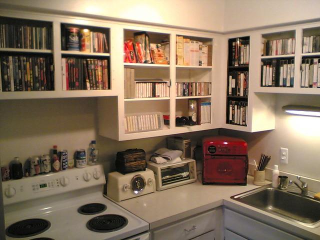 Organize The Kitchen Countertops