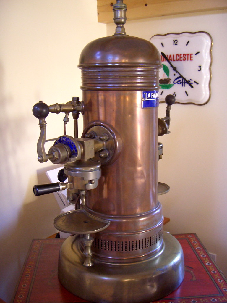 Antique Italian Coffee Maker : antique espresso machine From the collection of Willem Boo? Flickr