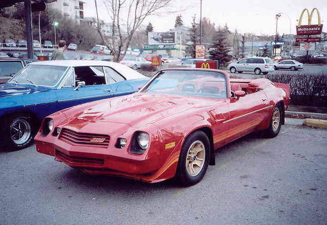 Chevrolet Camaro | 1981 Chevrolet Camaro convertible - one ...