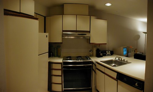 White Square Kitchen Tile Backsplash With Black Rope