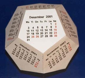 Diy Desk Calendar Stonz Blogspot Com 2004 12 Link Of Da D Flickr