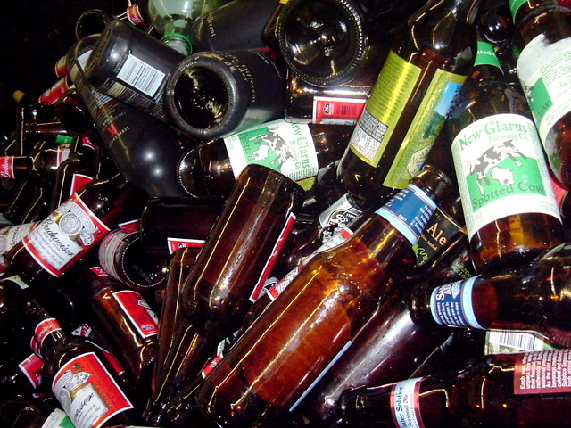 recycle brown bottles, changing the world