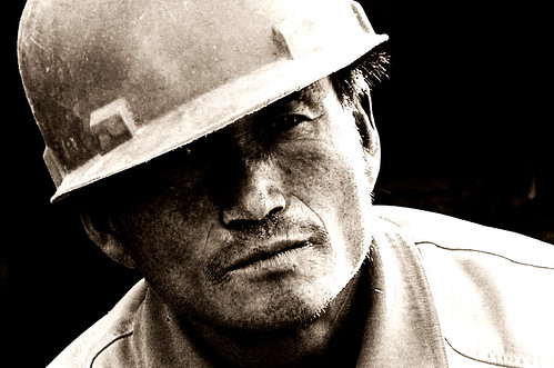 Construction Worker Potrait | by Saad.Akhtar
