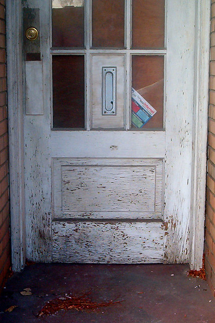 ... Door With Vertical Mail Slot | By O Caritas