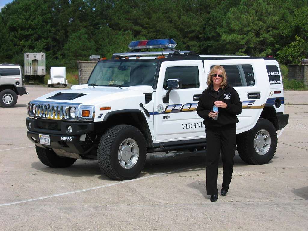 Police Hummer H2 Josh Brown Flickr