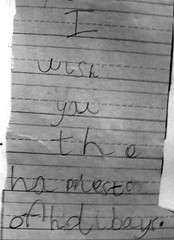 message from my 5-year-old niece | by Hilary (curioush)