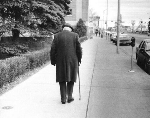 elderly man walking - photo #6