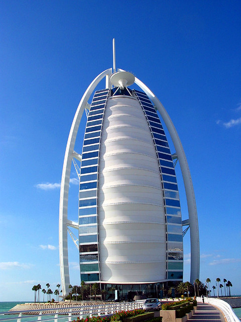 The Burj Al Arab Here It Is The Only Seven Star Hotel