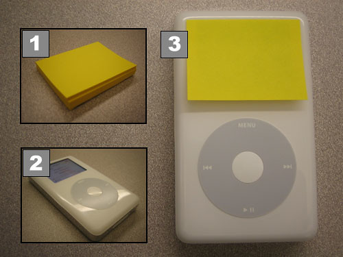 Turn any iPod into an iPod Shuffle in 3 easy steps! | by mhusson