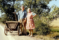 Czech couple with cart | by doc(q)man