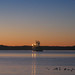 Prince Rupert Harbour Freighter at Sunset