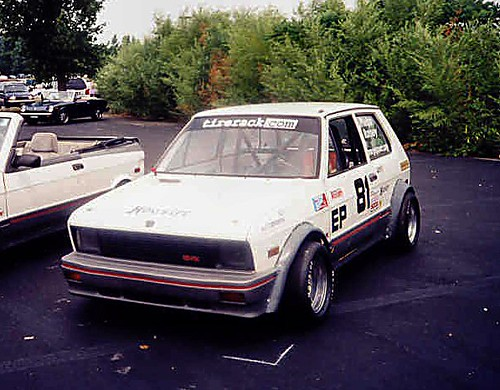Race Car For Sale >> Yugo Race Car | 1988 Yugo race car - bring on the Yugo jokes… | Flickr