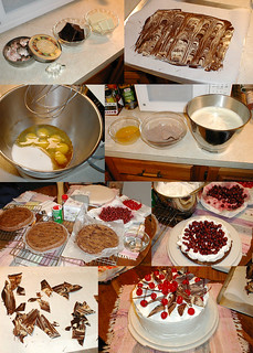 making black forest cake | by alida saxon