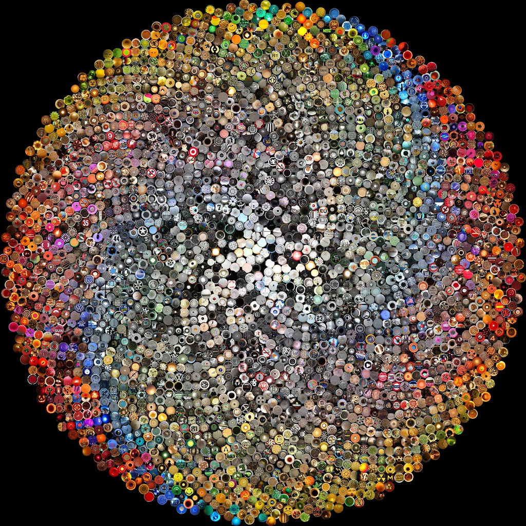 Mosaic Corydoras : Squared Circle Mosaic: Fibonacci Spiral with Hue Twist Flickr