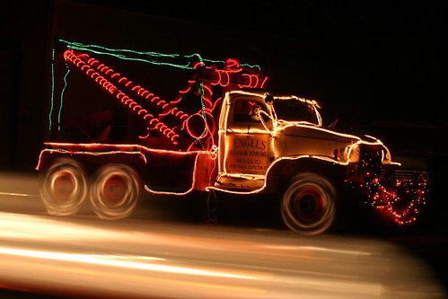 Holiday Tow Truck | by DavidDennisPhotos.com