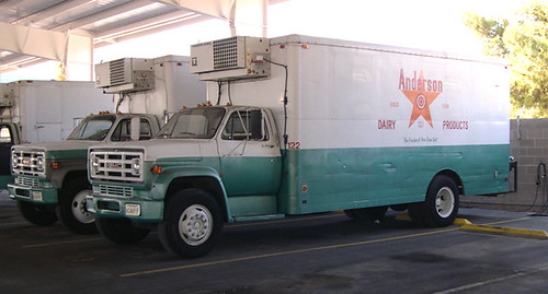 anderson dairy delivery truck las vegas nevada they are flickr. Black Bedroom Furniture Sets. Home Design Ideas