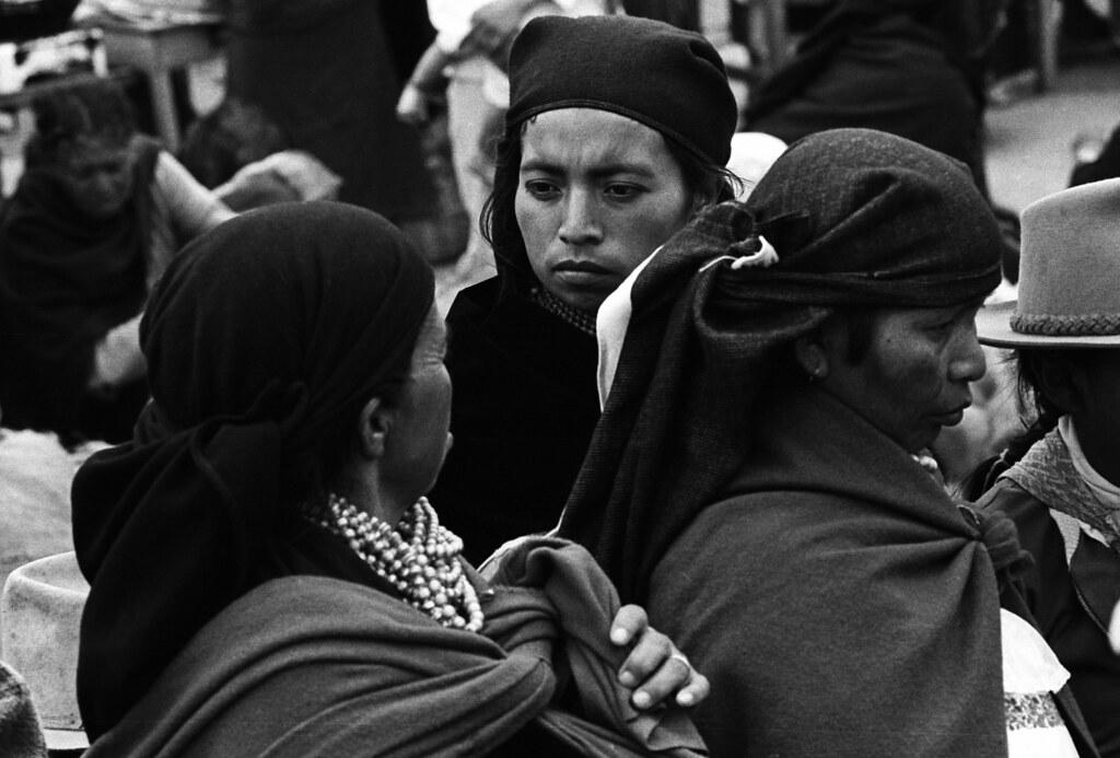 Dialogue in the Market, Otavalo, Ecuador, 82 | by Marcelo  Montecino