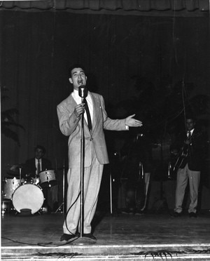 Tommy Zang performing in 1953 | by Maryrenee Smith
