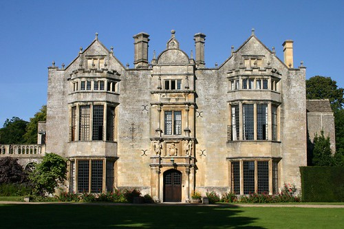 Burford Priory | Front view of the main house | Chris ...