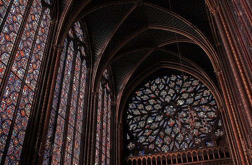 Sainte-Chapelle rose window | by Navnetmitt