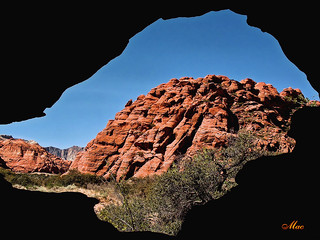 View from Cave - Snow Canyon State Park, Utah | by Mc Shutter