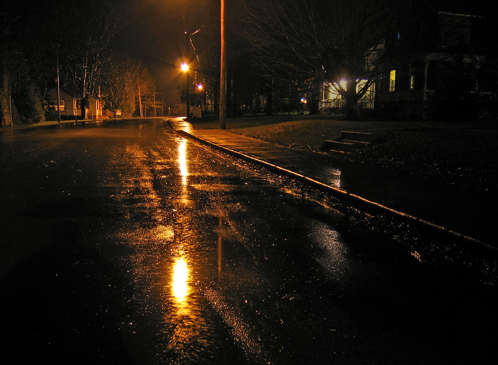 Rainy night street | Phillip | Flickr
