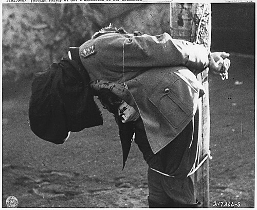 Nuremberg War Crimes: Execution of German General Anton Dostler