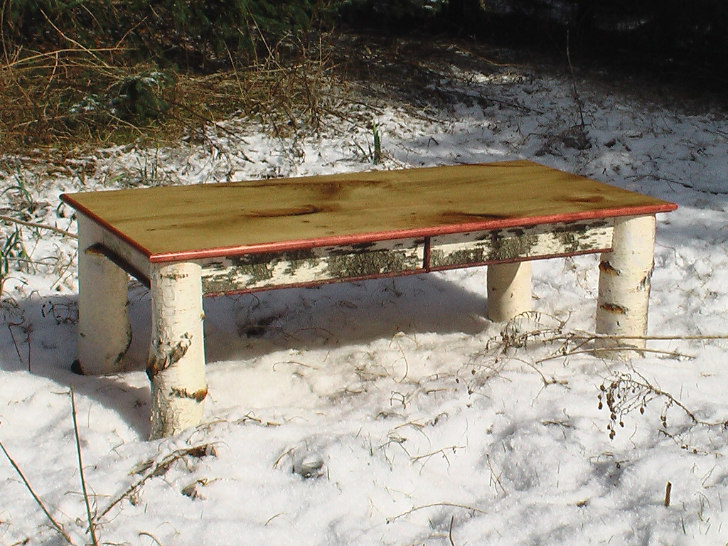 ... White Birch Coffee Table | By ALRF