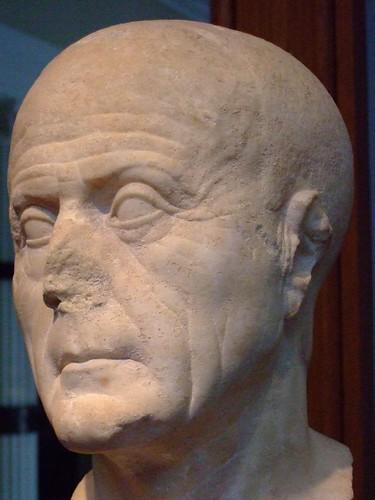 Head Of An Old Man Roman 25 Bce 10 Ce Marble 1