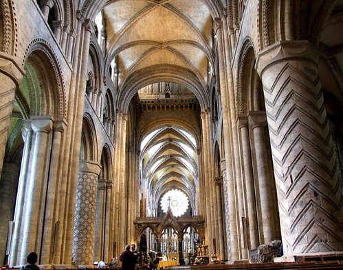 Durham cathedral nave there is nothing one can add here for Catedral de durham interior