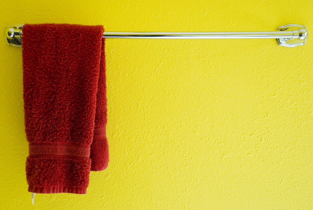 hanging towel. Towel | By Mason Bryant Hanging E
