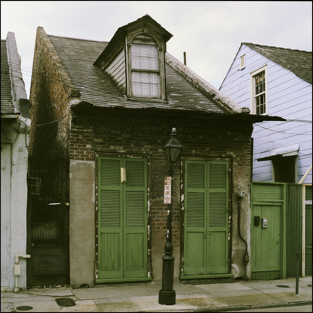 New Orleans 1984 Burgundy Street Between Toulouse And St Flickr