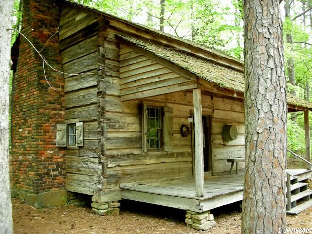 Pioneer Cabin At Callaway Gardens | By Paulu0027s Captures  (paul Mashburn.artistwebsites.