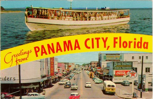 Greetings from panama city florida fishing boat full of for Fishing jobs in florida
