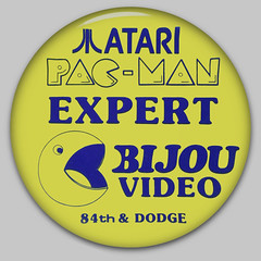 Atari Pac-Man Expert Button - Omaha, Nebraska - Early 1980's | by JasonLiebig