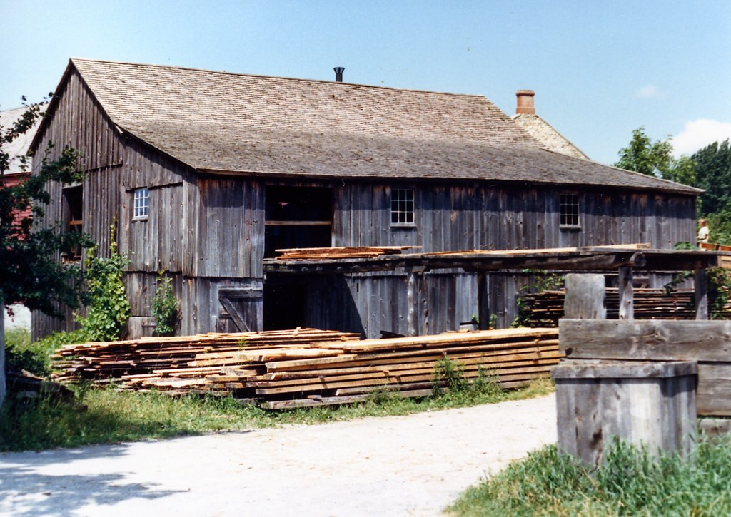 Saw Mill at Upper Canada Village   The Saw Mill at Upper ...