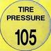 Tire pressure 105