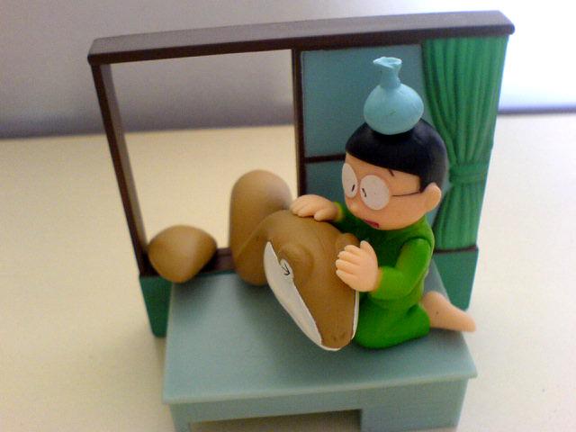 nobita baby dino nobita with baby dino amos flickr. Black Bedroom Furniture Sets. Home Design Ideas