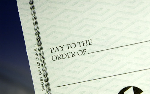 Pay to the order of... | by dslrninja