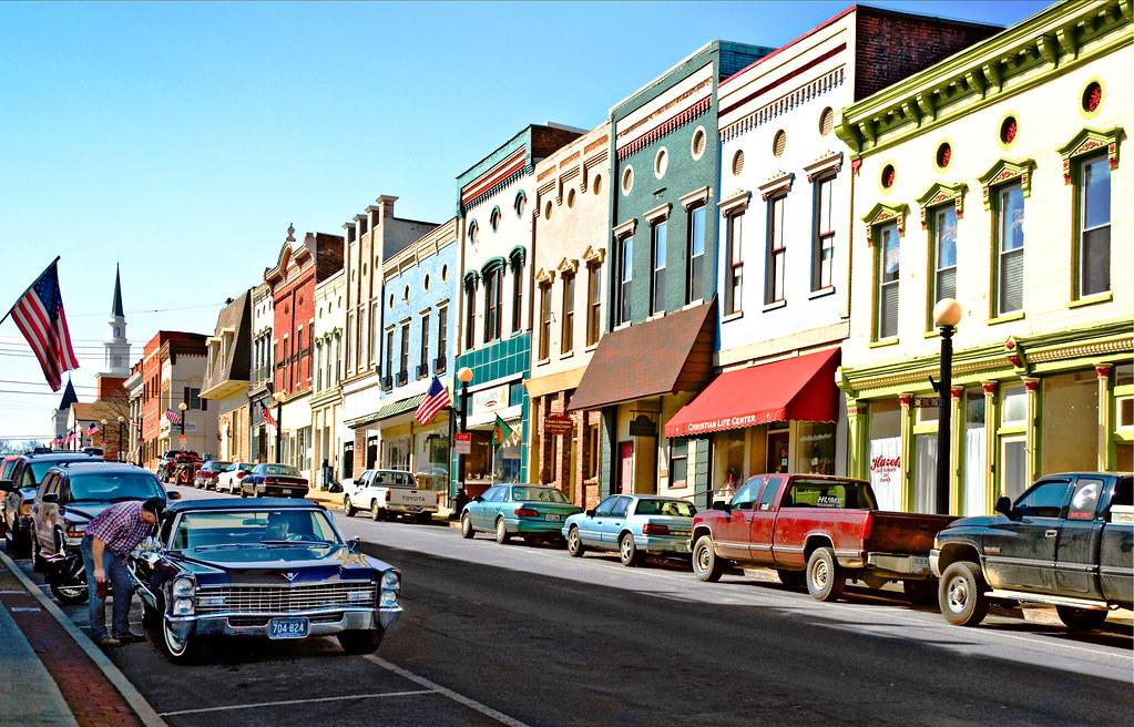 Main Street, Harrodsburg, Kentucky