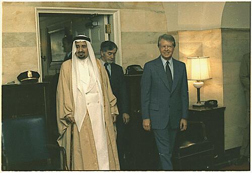 Public Domain Jimmy Carter With King Khalid Of Saudi Arab