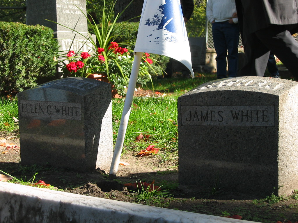 Graves of James and Ellen G. White | The graves of James ...